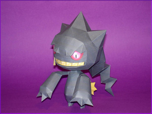 Banette Papercraft by Skele-kitty