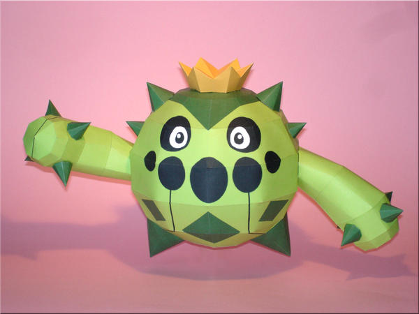 Cacnea Papercraft by Skele-kitty