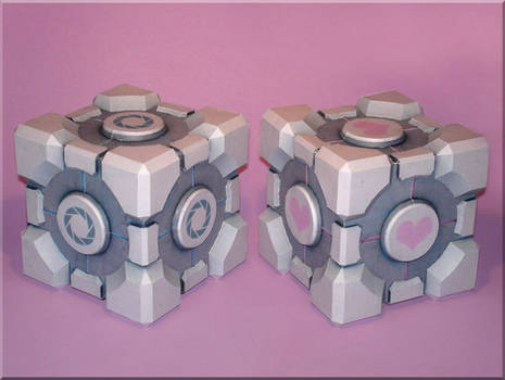 Weighted Cubes Papercraft