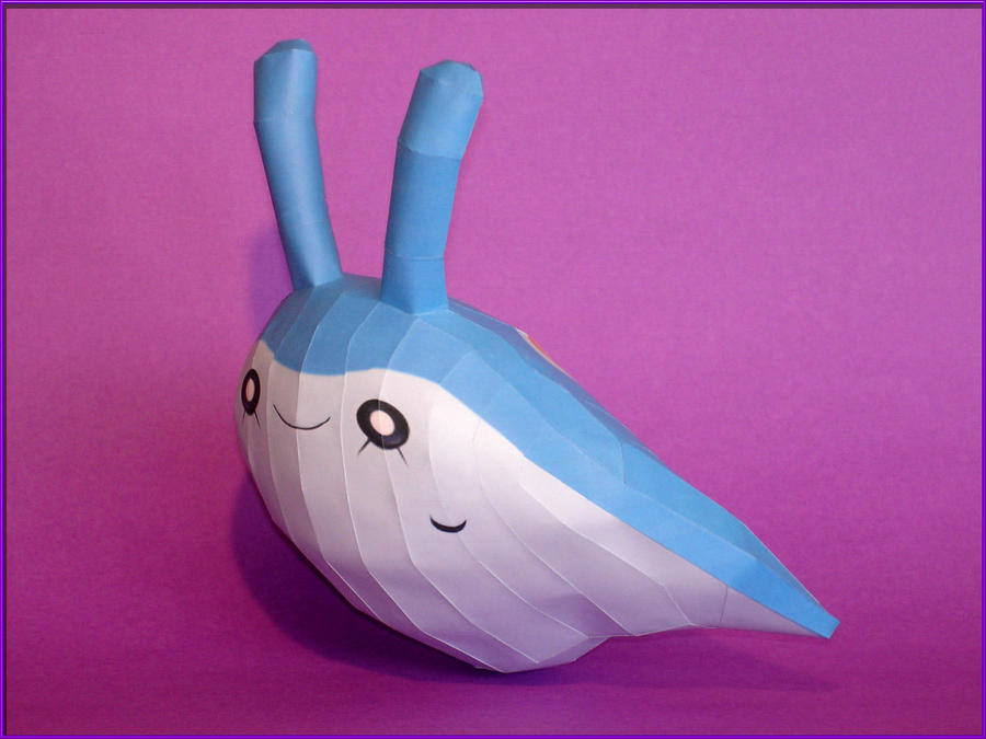 Mantyke Papercraft by Skele-kitty