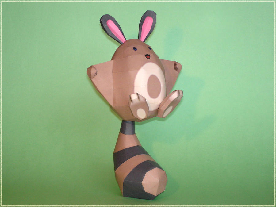 Sentret Papercraft by Skele-kitty