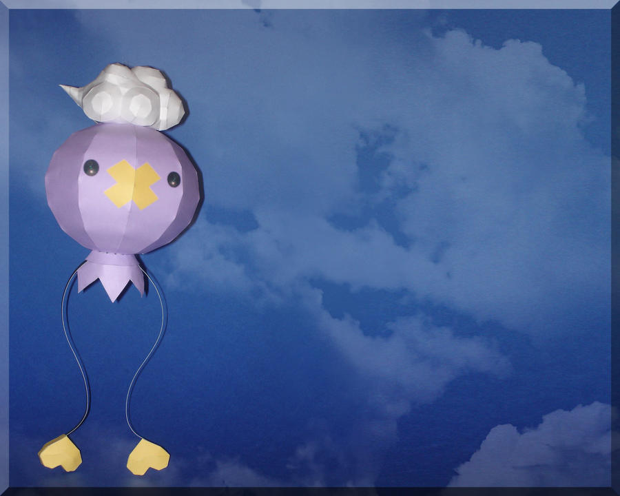 Drifloon Papercraft by Skele-kitty