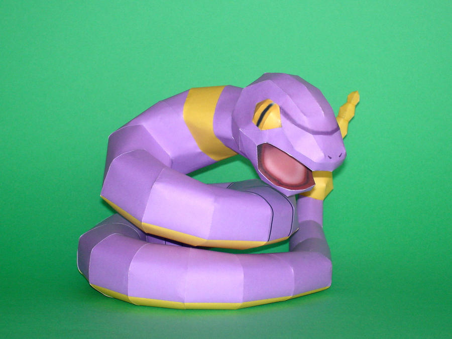 Ekans Papercraft by Skele-kitty