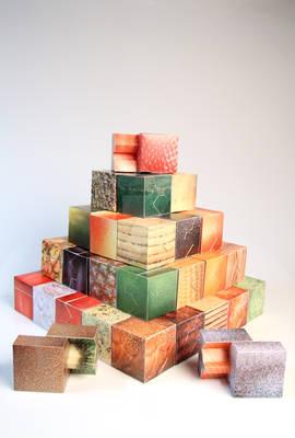 Food Pyramid Papercraft