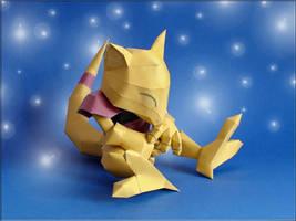 Abra Papercraft by Skele-kitty