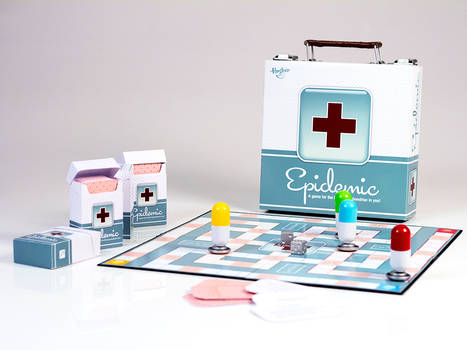 Epidemic Board Game Final by Skele-kitty