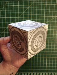 Siege Mode Tardis Papercraft by Skele-kitty