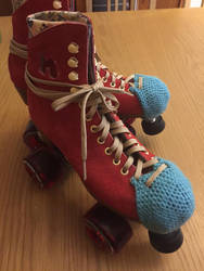 Crochet Skate Toe Guard