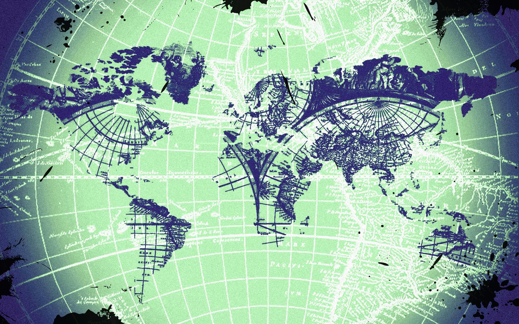 Mapmaker Wallpaper by Uwwmatt