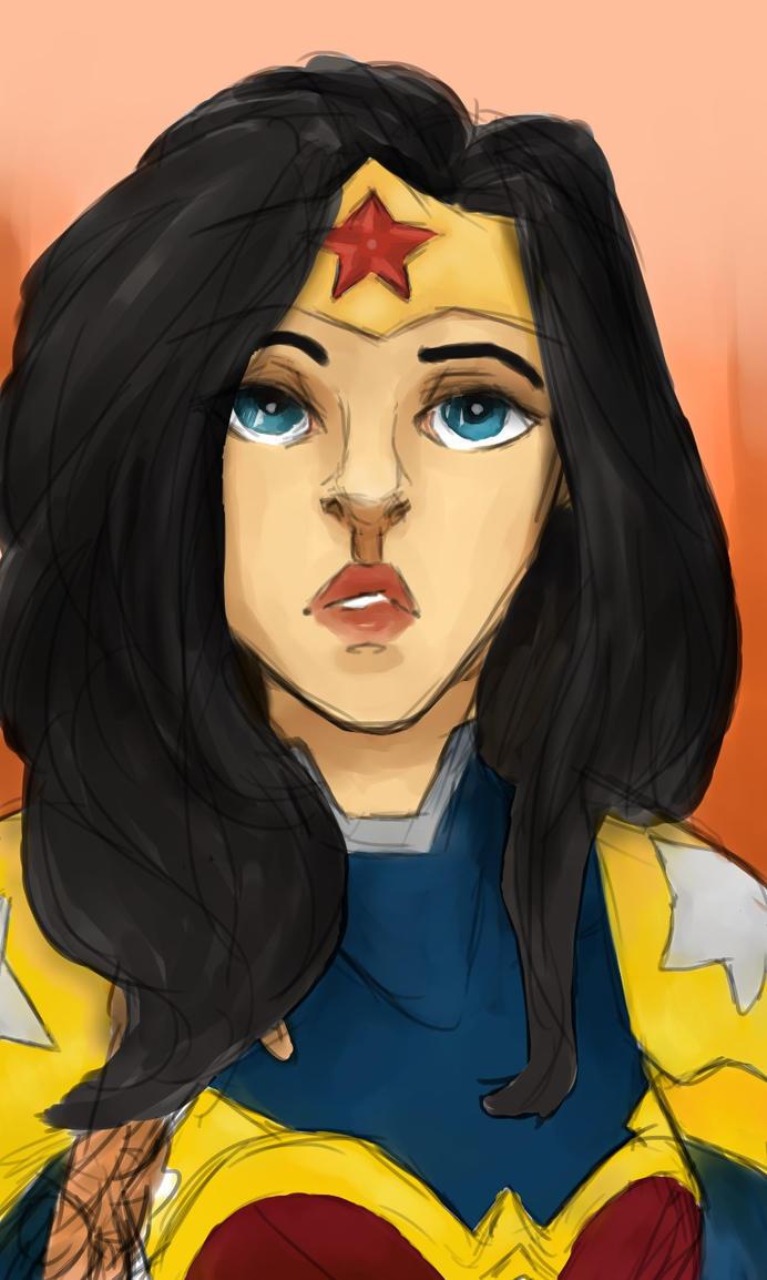 Wonder Woman! by forghetti-spaghetti