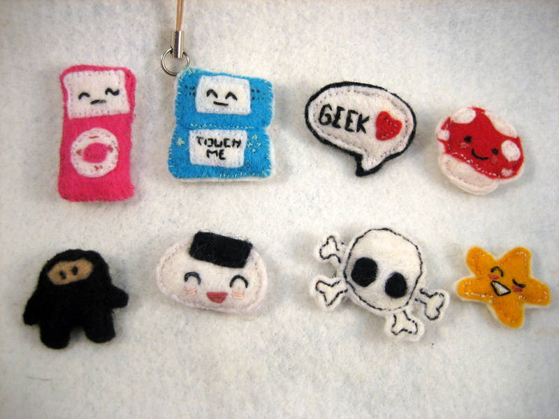 Felt Badges by chisa