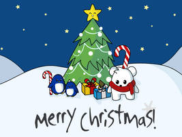 Snowy Merry Christmas by chisa