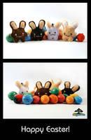 Choco Bunny Gang by chisa