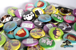 Button Badges by chisa