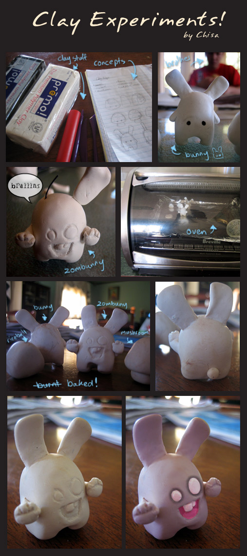 Clay Experiments by chisa