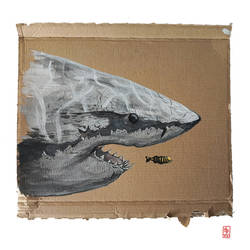 Sharks on Shreds 5 by Schwartz-Design