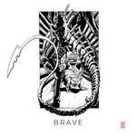 Inktober52 2021 - 12: Brave