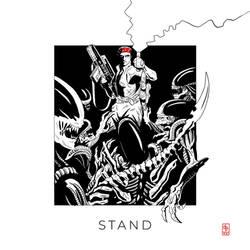 Inktober 52 2021 - 15: Stand