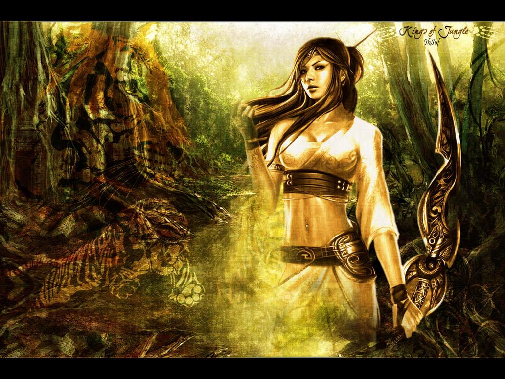 Kings Of Jungle by JkSuf