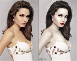 Vampire Angelina Jolie