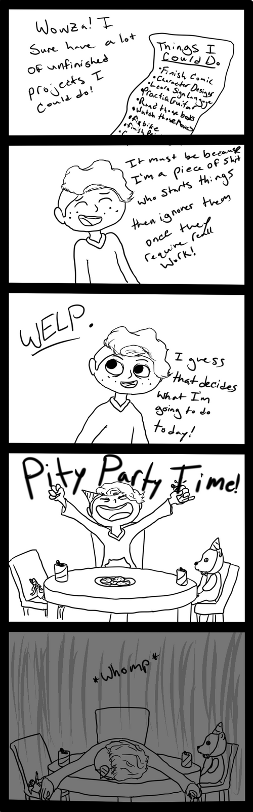 Pity Party by PsychoBabble192