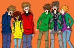 Eddsworld Manga Style + 2 OC's