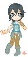 Nevie Pixel doll by MisakiShiki