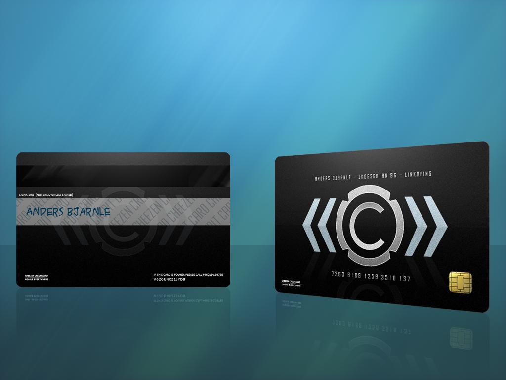 Cheezen Credit Card 1 by Cheezen