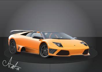 Lamborghini Murcielago by Cheezen