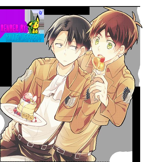 Renders Yaoi (22) et Yuri (14). Render__shingeki_no_kyojin_yaoi_by_killerjeff234-d6l1r3i