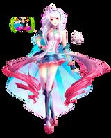 Render- Maika Vocaloid by KillerJeff234