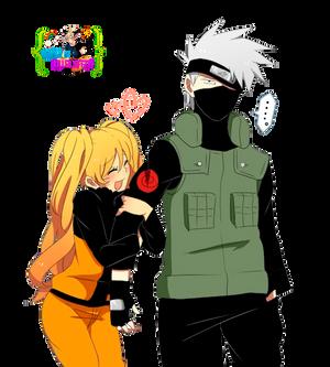 Render- Naruko and Kakashi