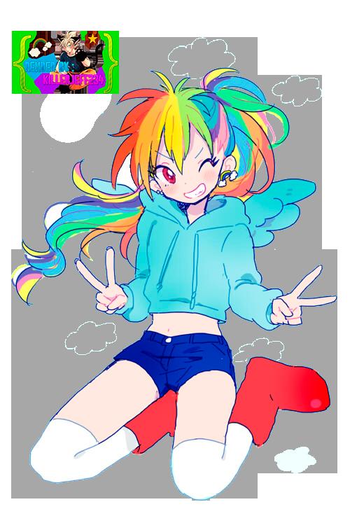 Render- Rainbow Dash by KillerJeff234