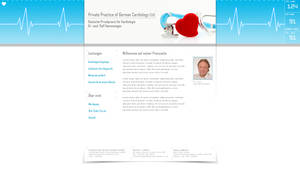 website layout cardiology