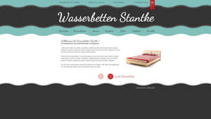 website layout waterbed trader