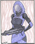 Tali' Zorah Vas Normandy