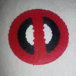 Deadpool perler magnet by ManiacalRemedies
