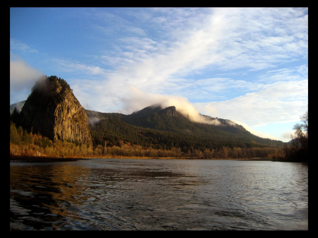 Beacon Rock by JollyAndy