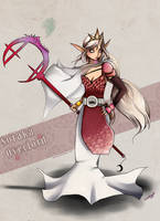 Skin: Lady Overlord Soraka by Hikasawr