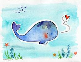 Whale by Hikasawr