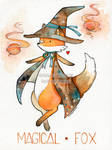World's Watercolor Month - Day 1 : Fox