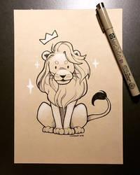 Inktober 2018 - Day 25 - Lion