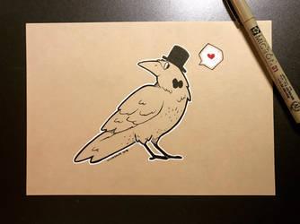 Inktober 2018 - Day 28 - Raven