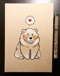 Inktober 2018 - Day 30 - Bear