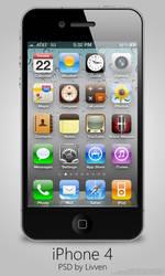 Apple iPhone 4 PSD