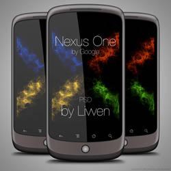 Google Nexus One PSD