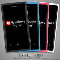 Nokia Lumia 800 PSD