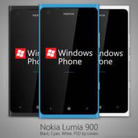 Nokia Lumia 900 PSD by Livven
