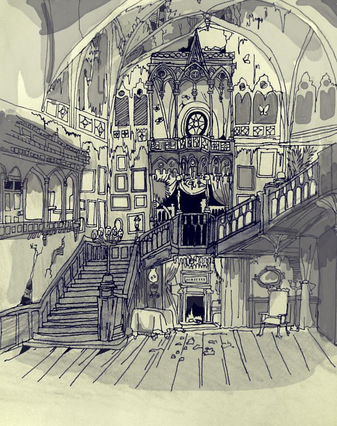 Allerdale Hall By Davidlm123 On Deviantart
