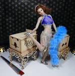 Flirty Sophia and the big-box sawing
